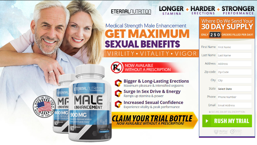 Enteral Male Enhancement - Ingredients
