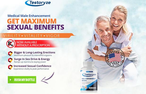 Testoryze - Benefits & reviews