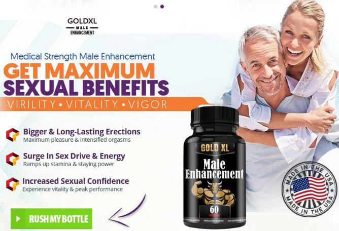 Gold xl - male enhancement pills
