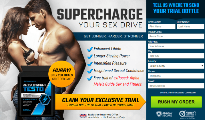 Alpha Thunder Testo -#MaleEnhancement