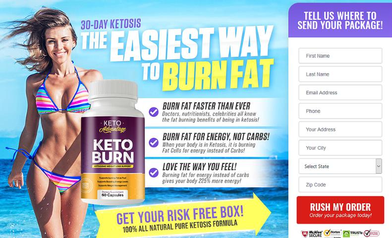Keto Burn Advantage - Pricing
